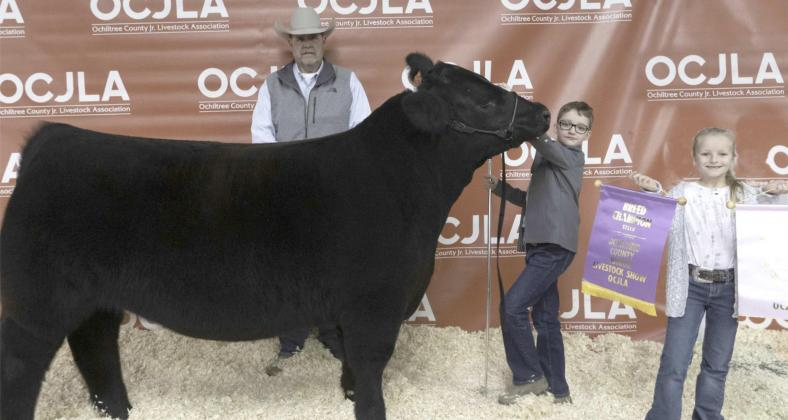 RESERVE GRAND CHAMPION STEER