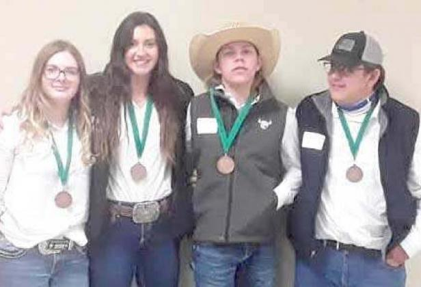 4-H MEMBERS COMPETE AT ROUNDUP