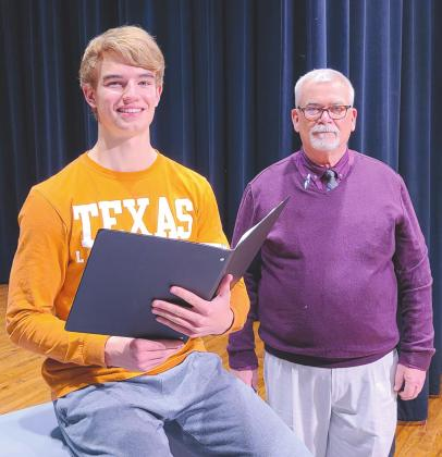 SCHOLLENBARGER NAMED TO ALL-STATE CHOIR